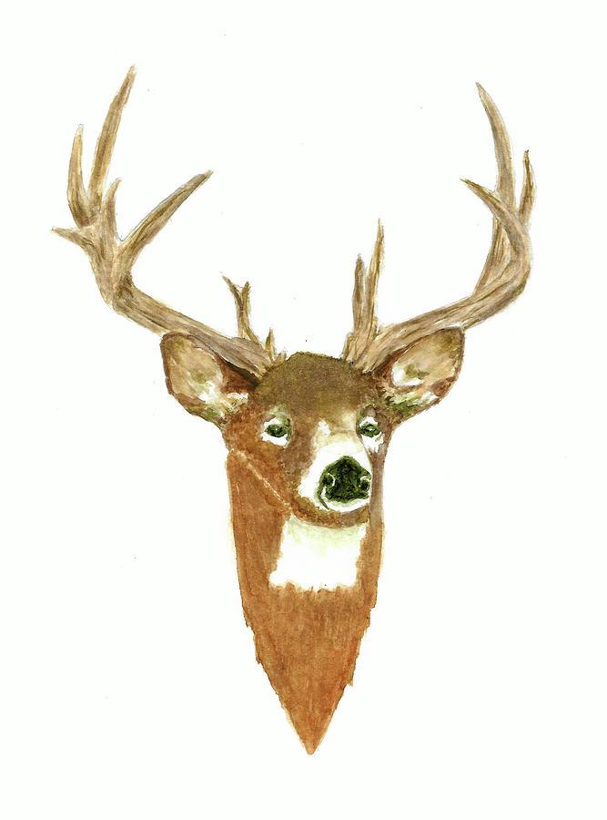 Male Deer #3 Painting