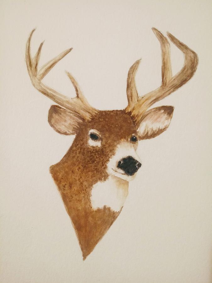 Male Deer Painting