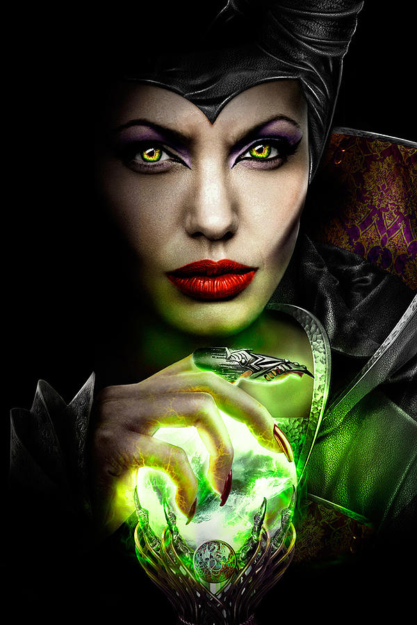 Maleficent 2014 Digital Art By Geek N Rock