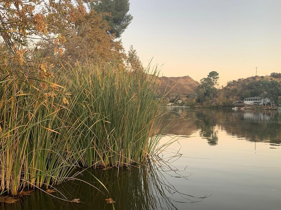Malibou Lake Evening Photograph