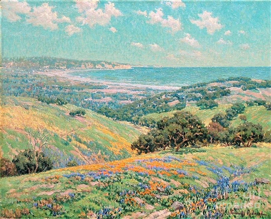 Malibu Coast  Spring Painting