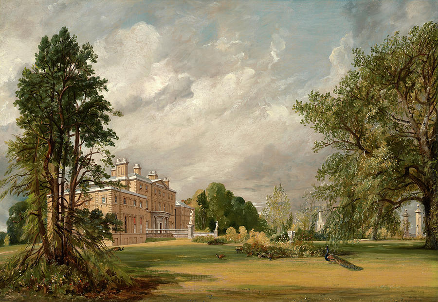 John Constable Painting - Malvern Hall, 1821 by John Constable