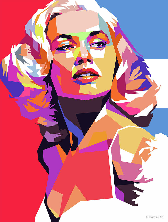 Mamie Van Doren 2 Digital Art