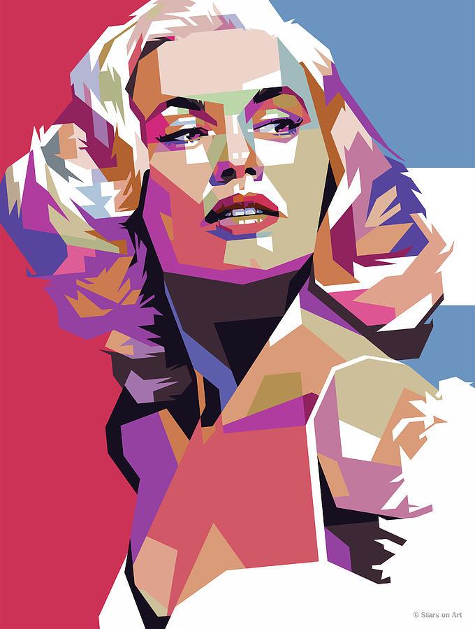 Mamie Van Doren Digital Art