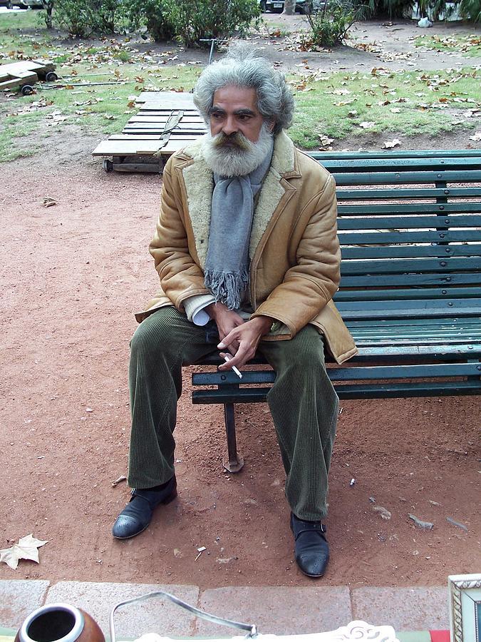 Man In Uruguay Photograph