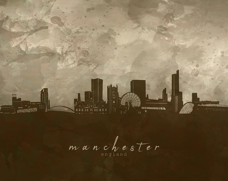 Manchester Skyline Panorama 4 Photograph