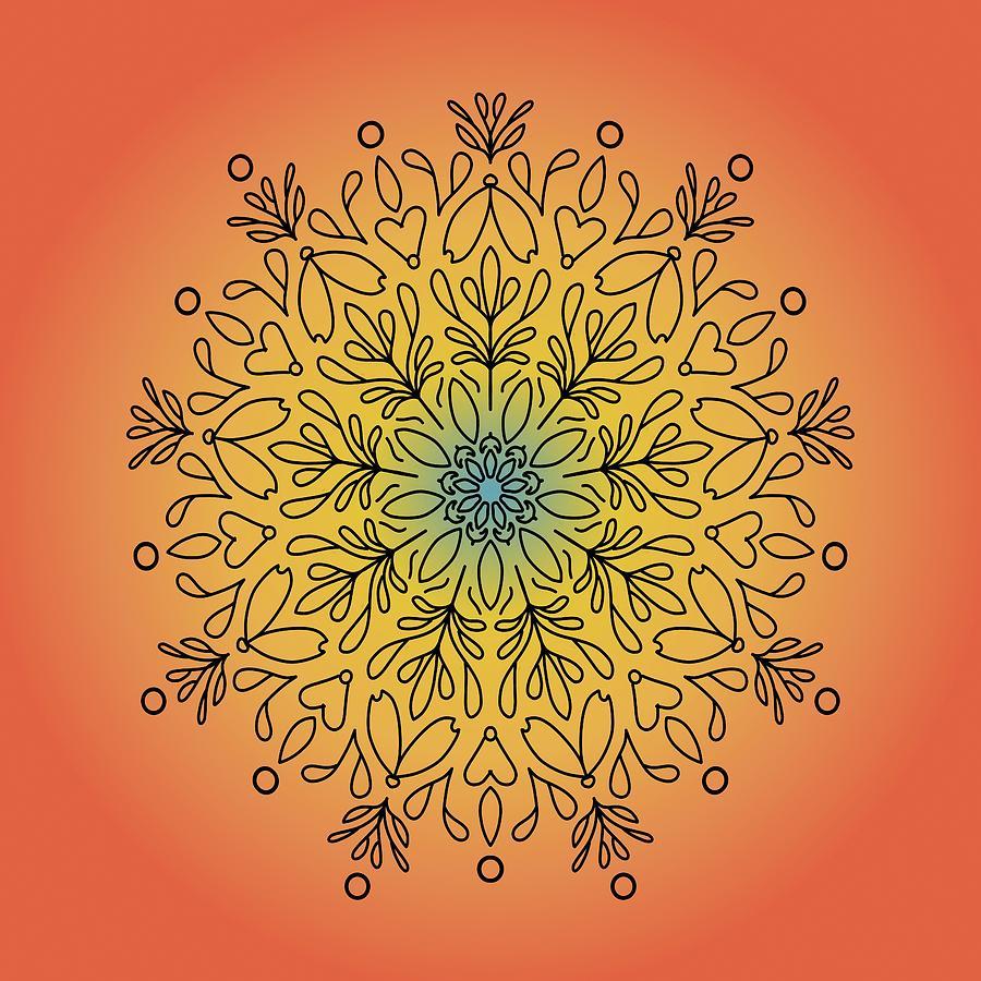 Mandala 33 by Angie Tirado