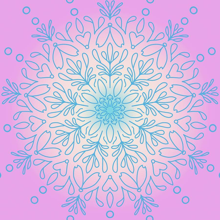 Mandala 34 by Angie Tirado