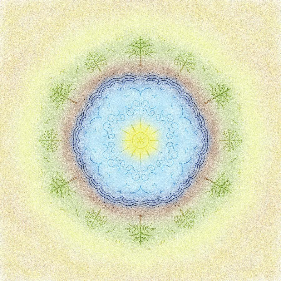 Mandala 38 by Angie Tirado