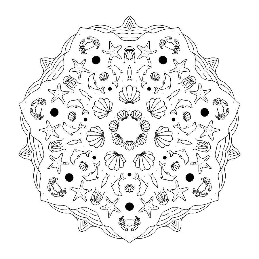 Mandala 39 by Angie Tirado