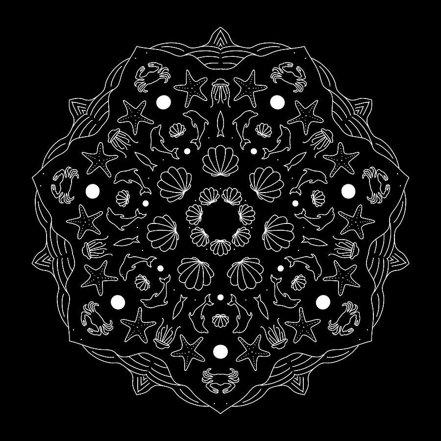 Mandala 40 by Angie Tirado