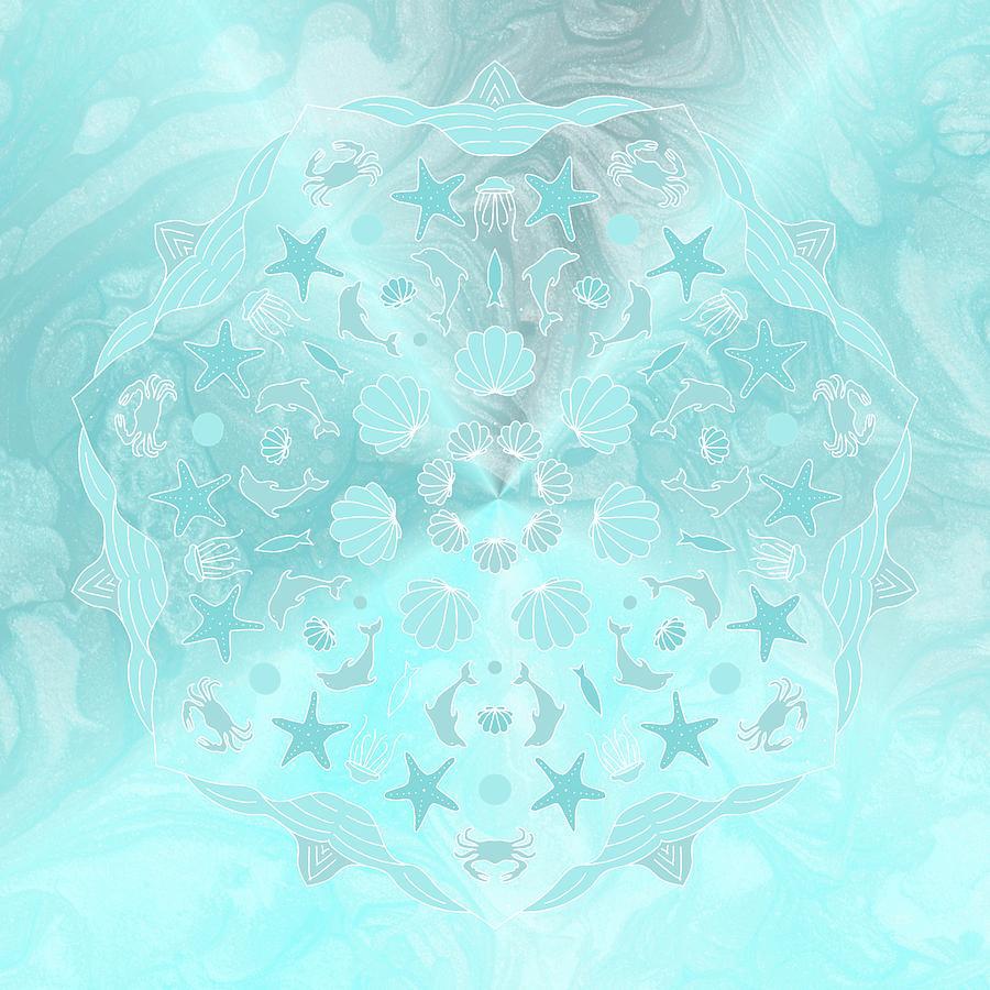 Mandala 41 by Angie Tirado