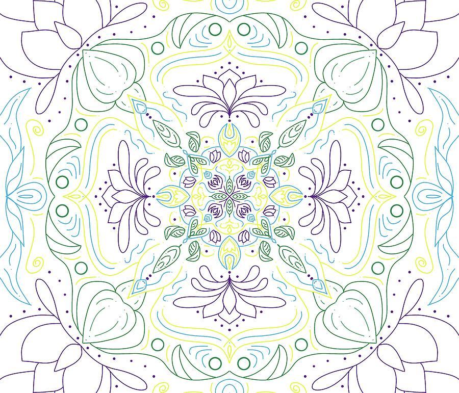 Mandala 49 Digital Art
