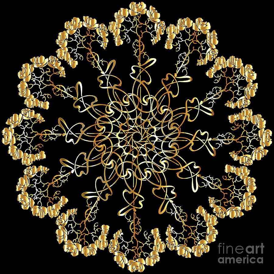 Mandala Decorative Ornamental Floral Mixed Media