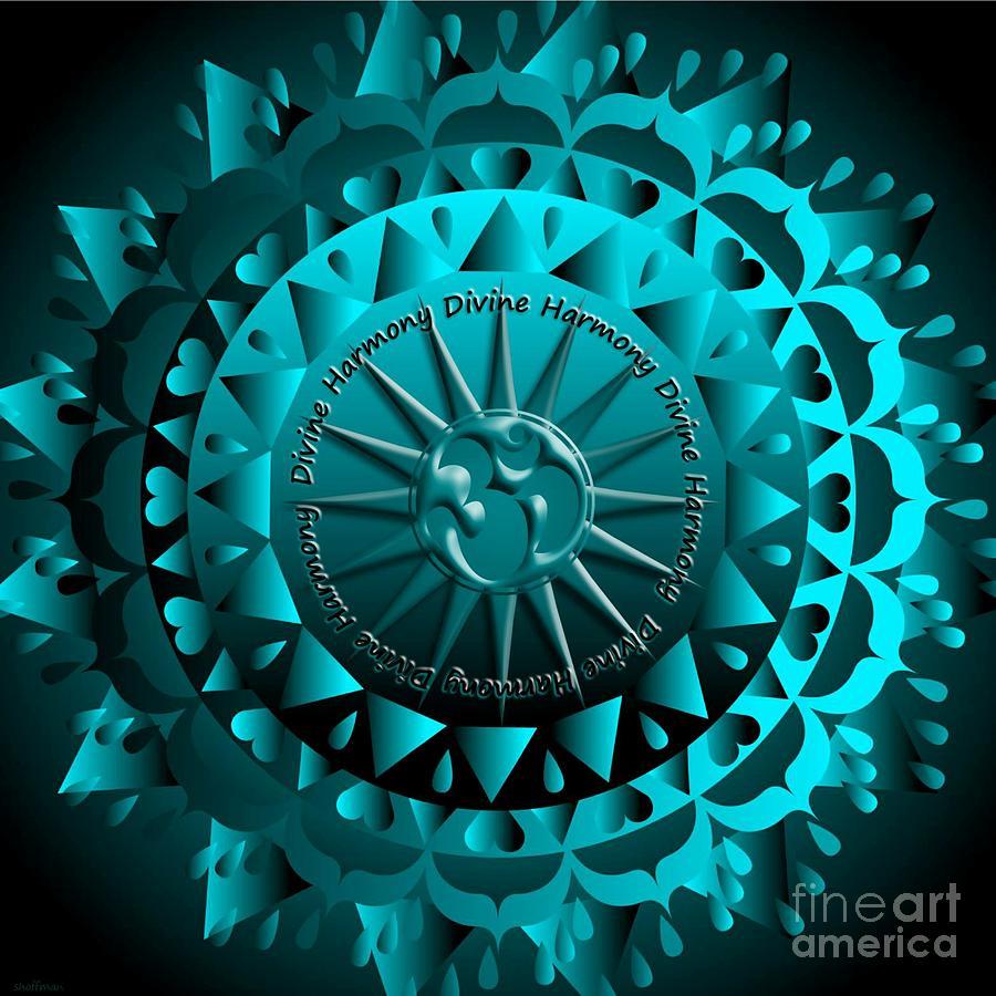 Mandala Divine Harmony Mixed Media