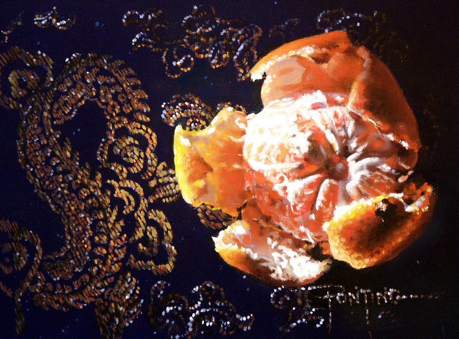 Mandarin Painting - Mandarin by Dianna Ponting