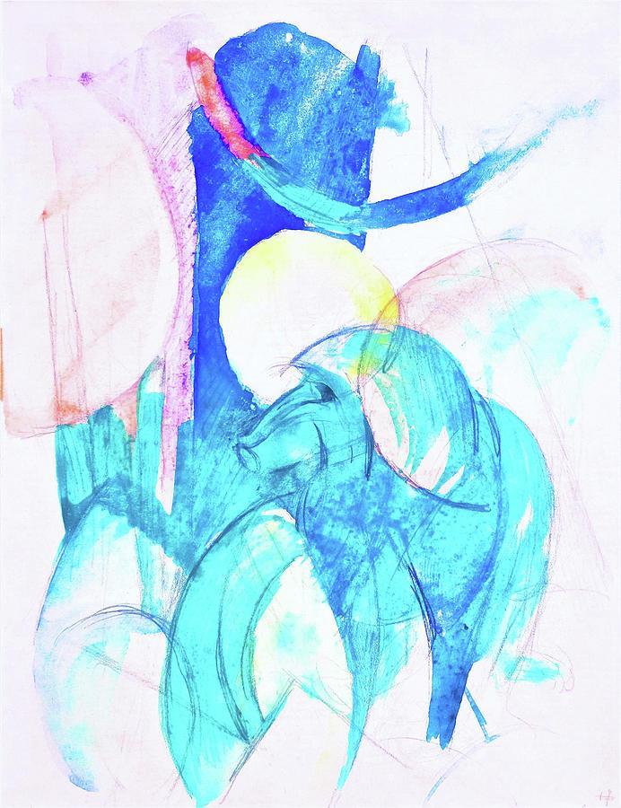 Mandrill Painting - Mandrill - Digital Remastered Edition by Franz Marc
