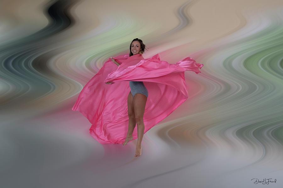 Mandy Dancing In A Swirl Photograph