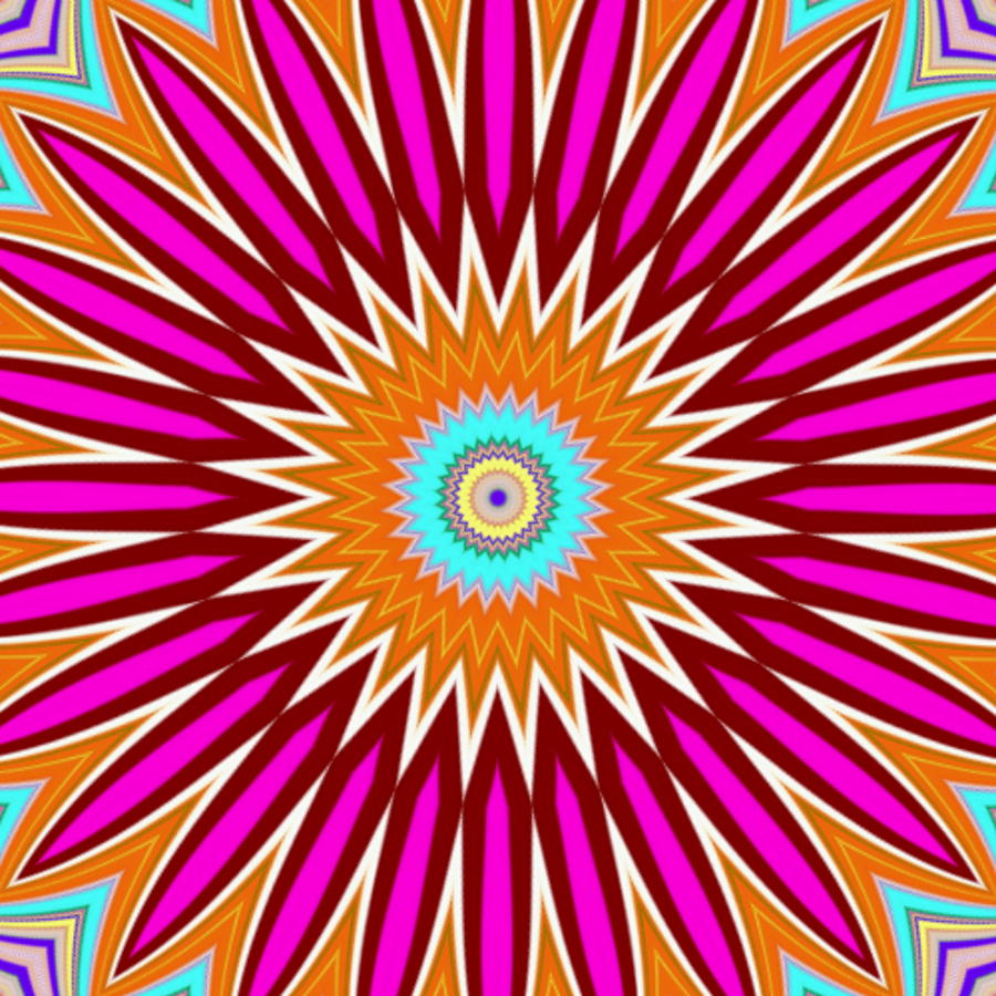Mango Digital Art - Mango Burst by Lady Ls Designs