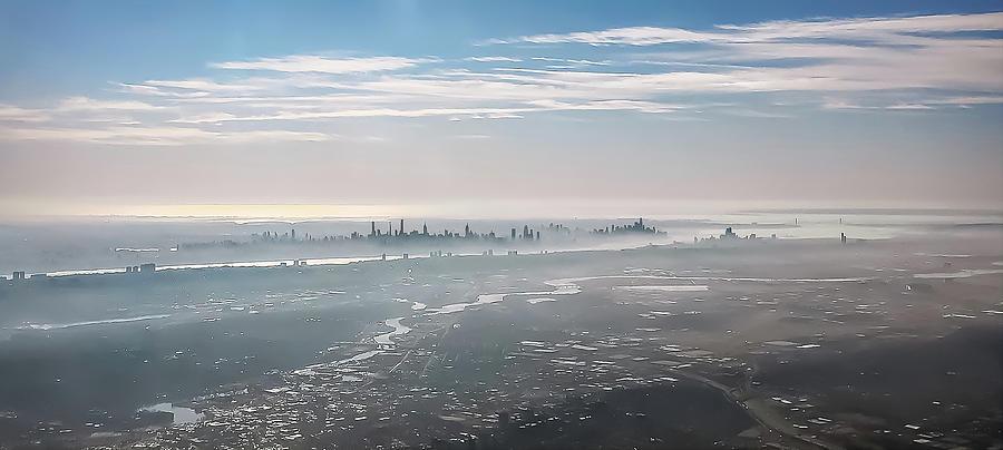 Manhattan in the Mist by Dimitris Sivyllis