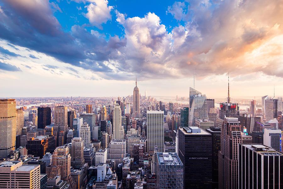 Manhattan-New York Photograph by Yubo