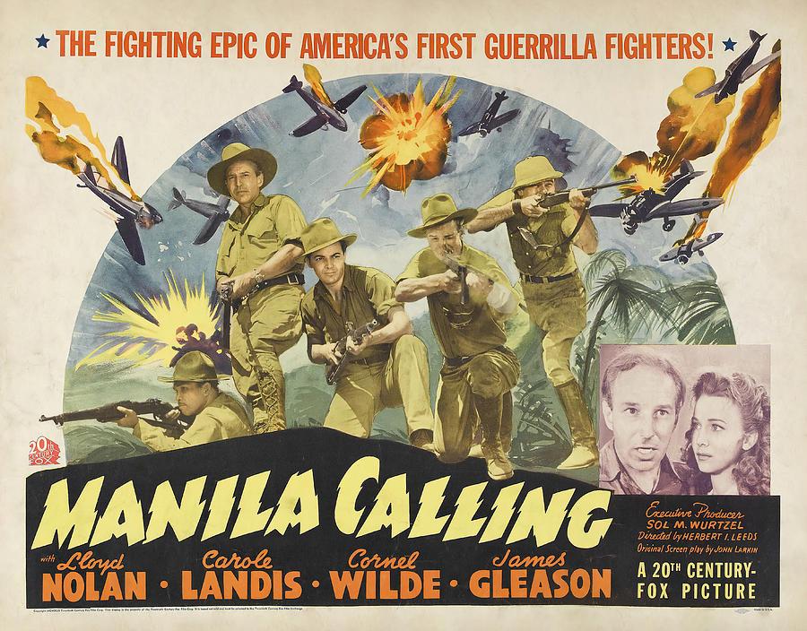 manila Calling, 1942 Mixed Media