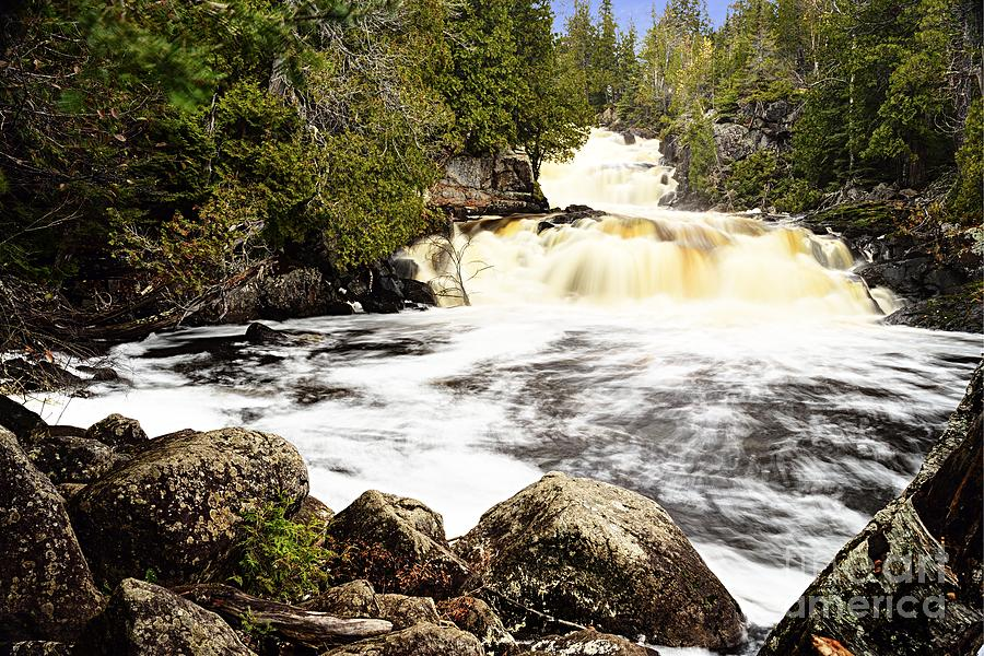 Manitou Falls by Larry Ricker