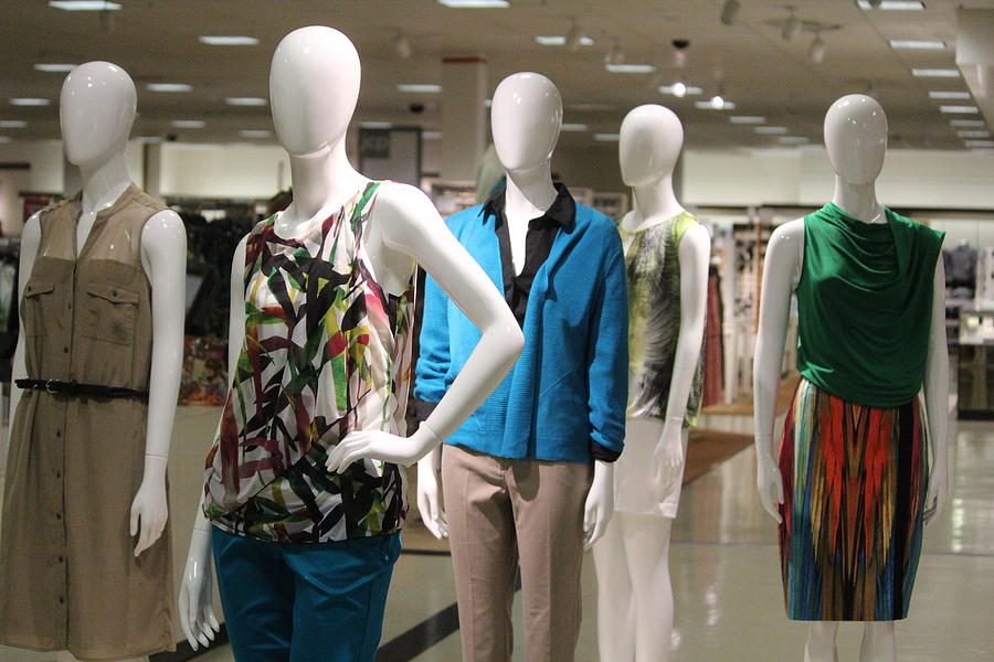 Mannequins Photograph - Mannequins by Callen Harty