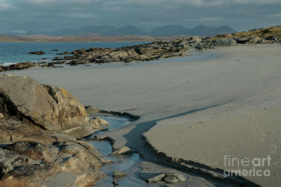 Mannin bay winter's day by Peter Skelton