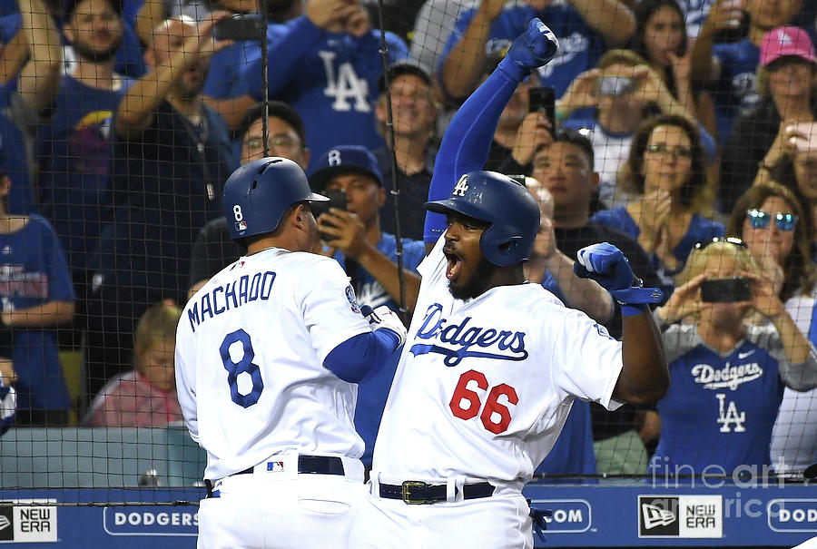 Manny Machado And Yasiel Puig Photograph by Jayne Kamin-oncea