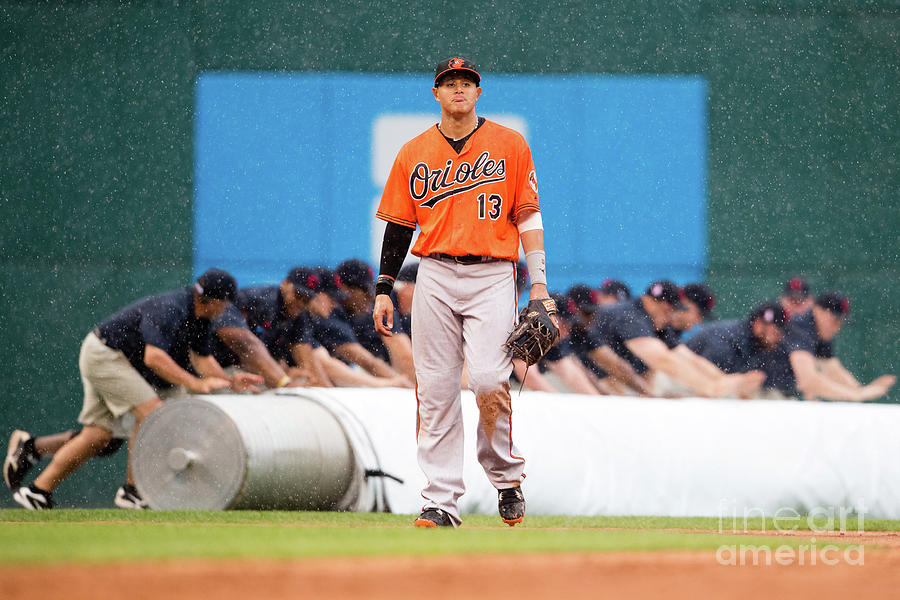 Manny Machado Photograph by Jason Miller