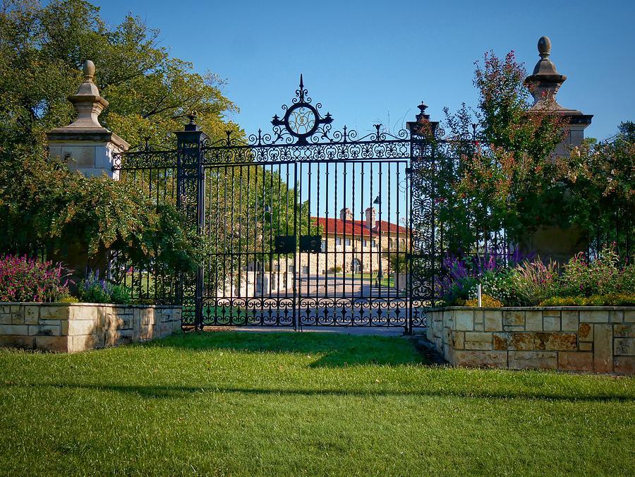 Mansion Gate Photograph