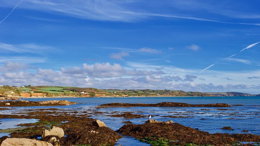 Marazion Coast, Cornwall, England. Photograph