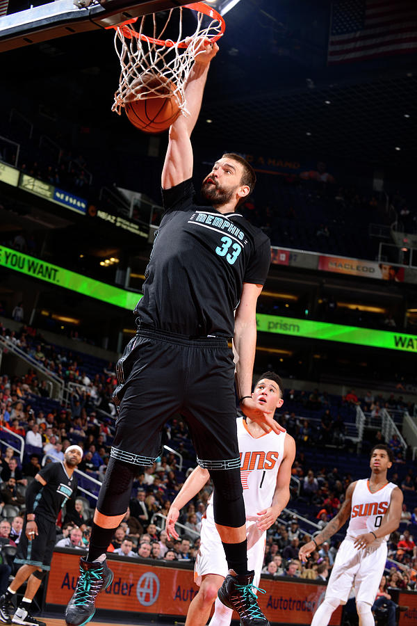 Marc Gasol Photograph by Barry Gossage