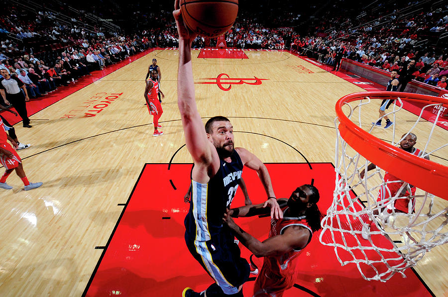 Marc Gasol Photograph by Bill Baptist