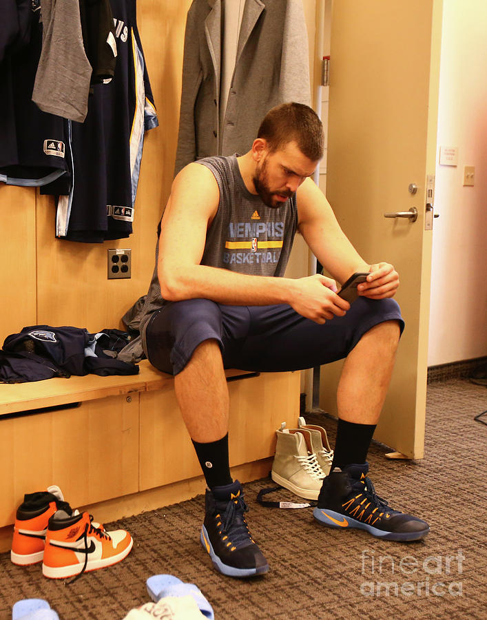 Marc Gasol Photograph by Nathaniel S. Butler