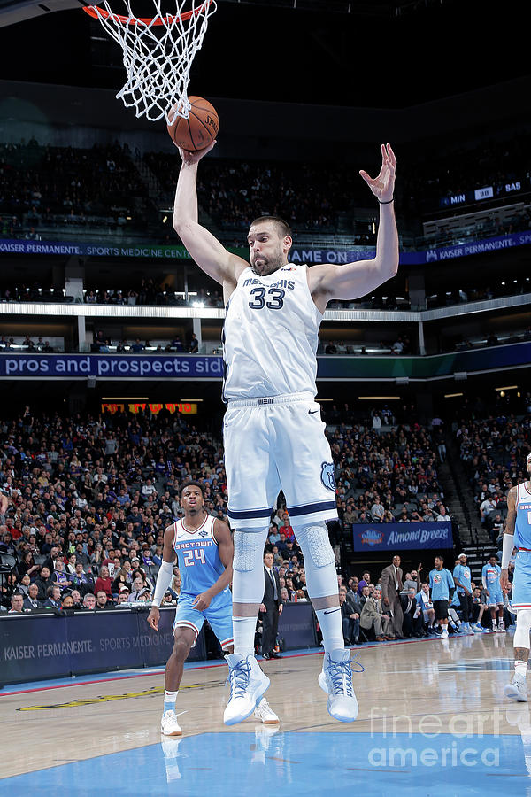 Marc Gasol Photograph by Rocky Widner