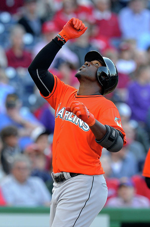 Marcell Ozuna Photograph by Greg Fiume