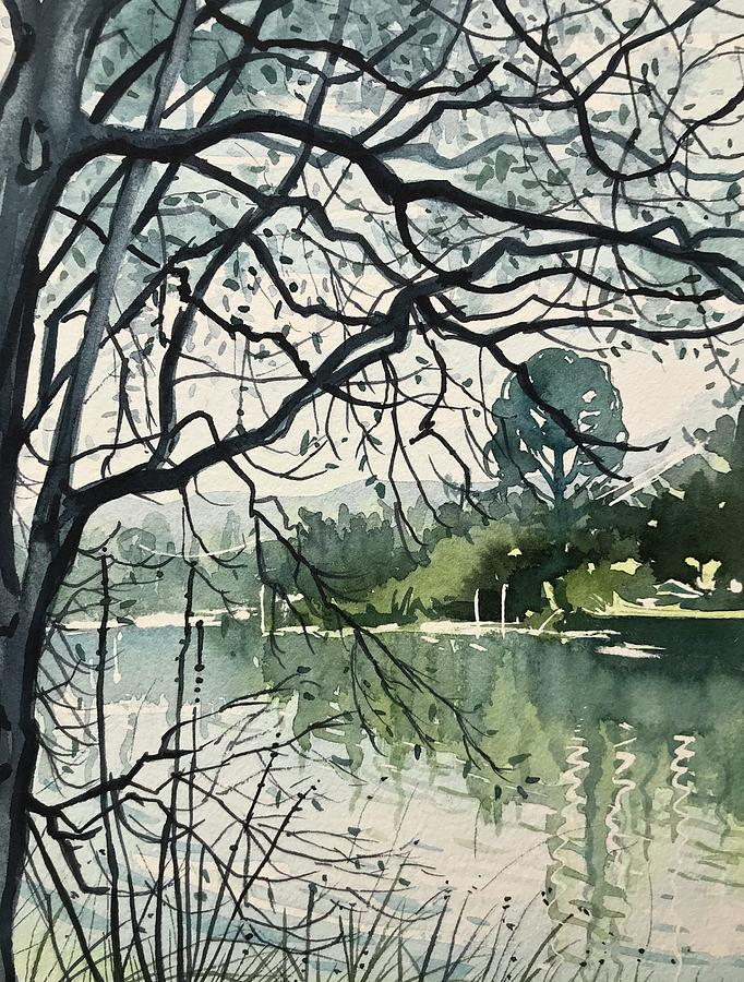 March Morning Painting