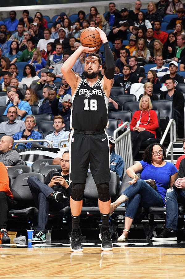 Marco Belinelli Photograph by Gary Bassing