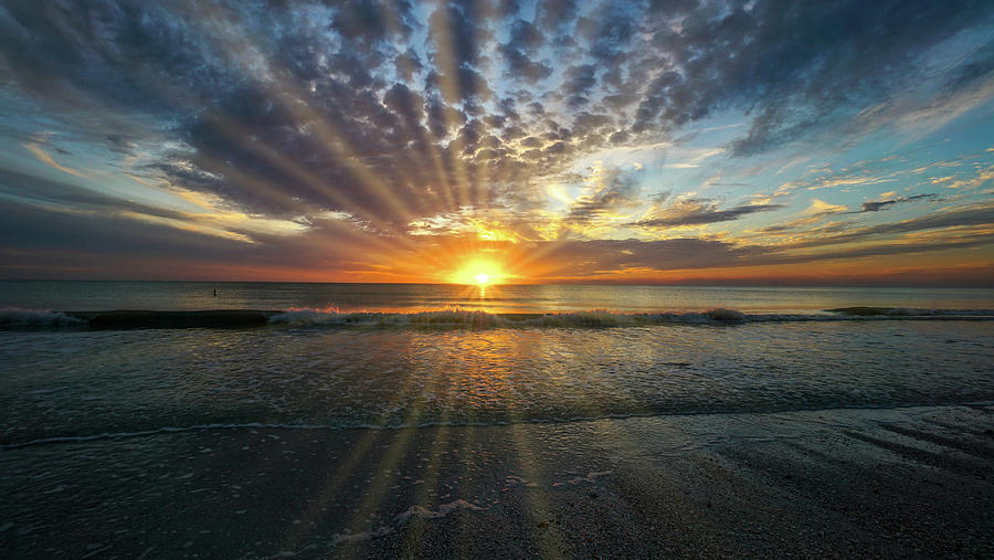 Florida Photograph - Marco Island Sunset  by Joey Waves