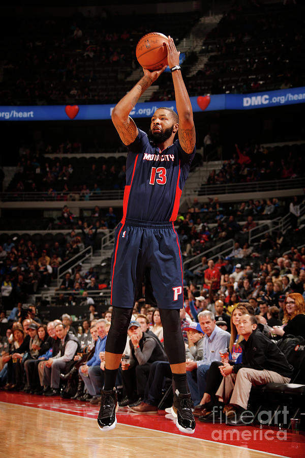 Marcus Morris Photograph by Brian Sevald