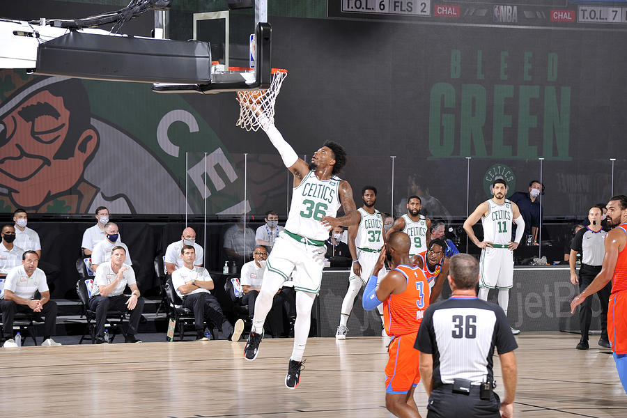 Marcus Smart Photograph by David Sherman