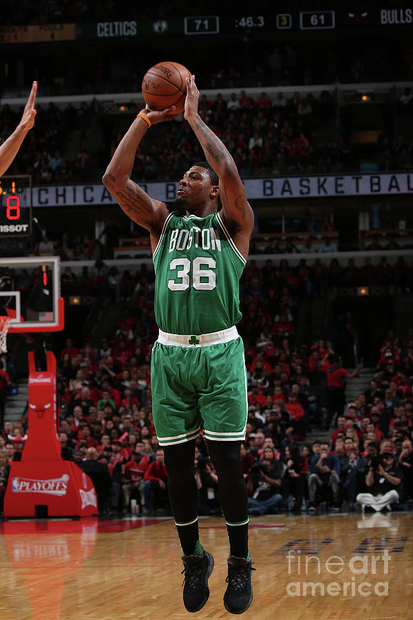 Marcus Smart Photograph by Gary Dineen