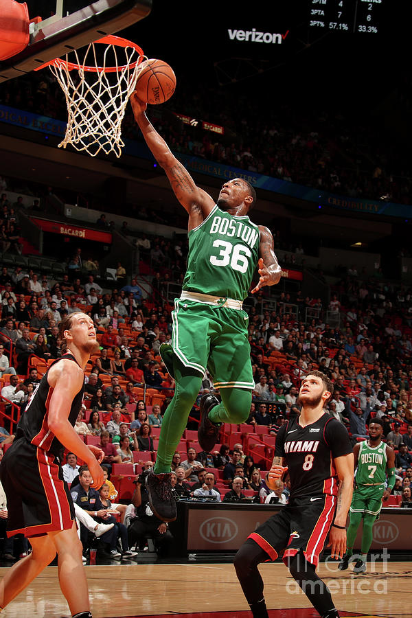 Marcus Smart Photograph by Issac Baldizon