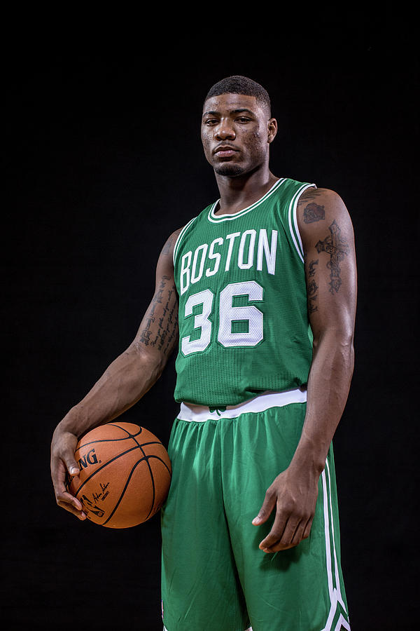 Marcus Smart Photograph by Nick Laham