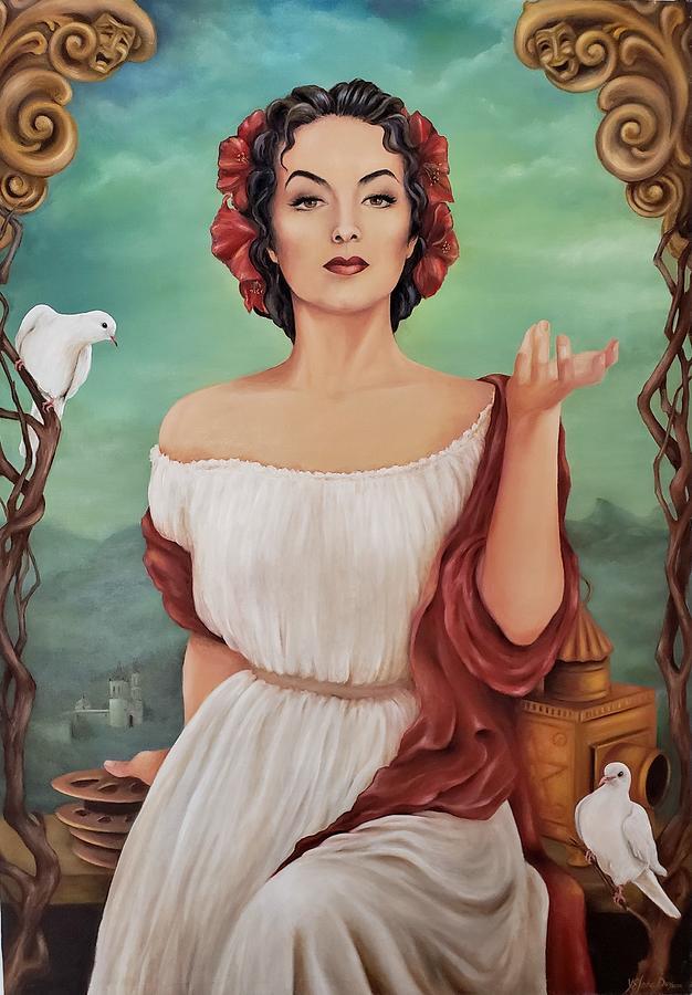 Maria Felix Painting