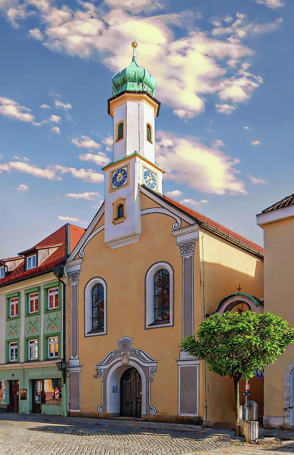 Maria Hilf Church Photograph