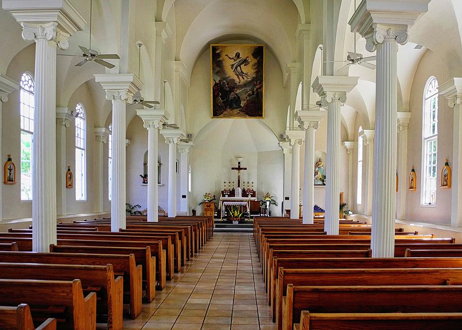 Lahaina Photograph - Maria Lanakila Church Interior by Kirsten Giving
