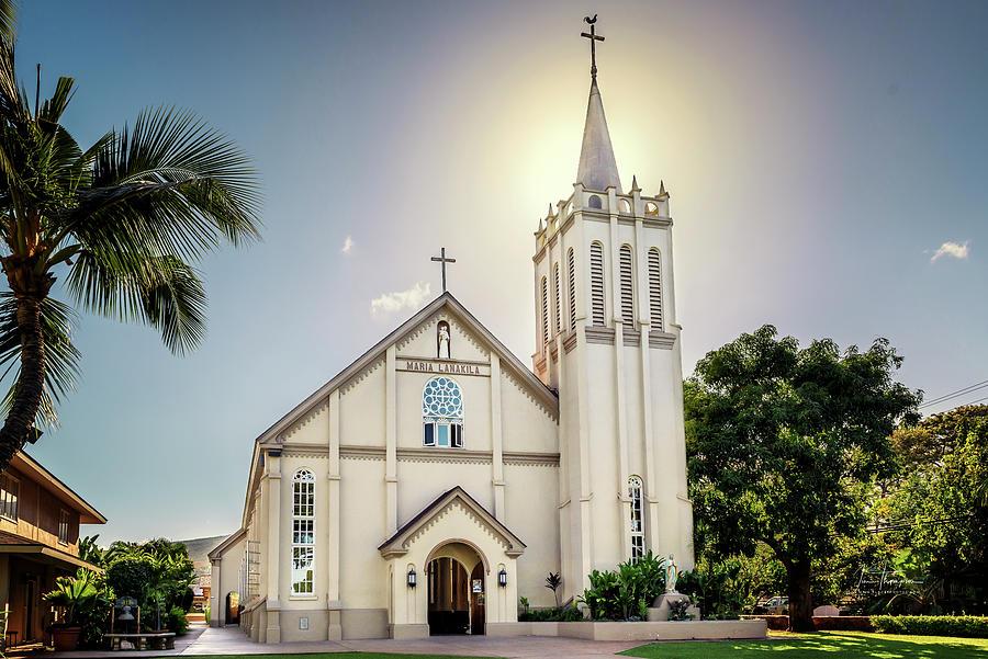 Church Photograph - Maria Lanakila by Jim Thompson